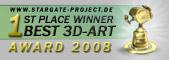 3D-Artwork Gold